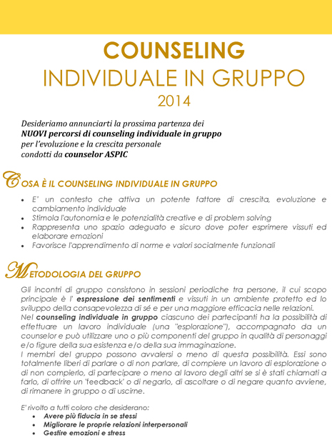 Counseling ind in gruppo 2014_Pagina_1
